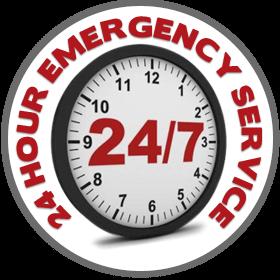 24/7 service logo